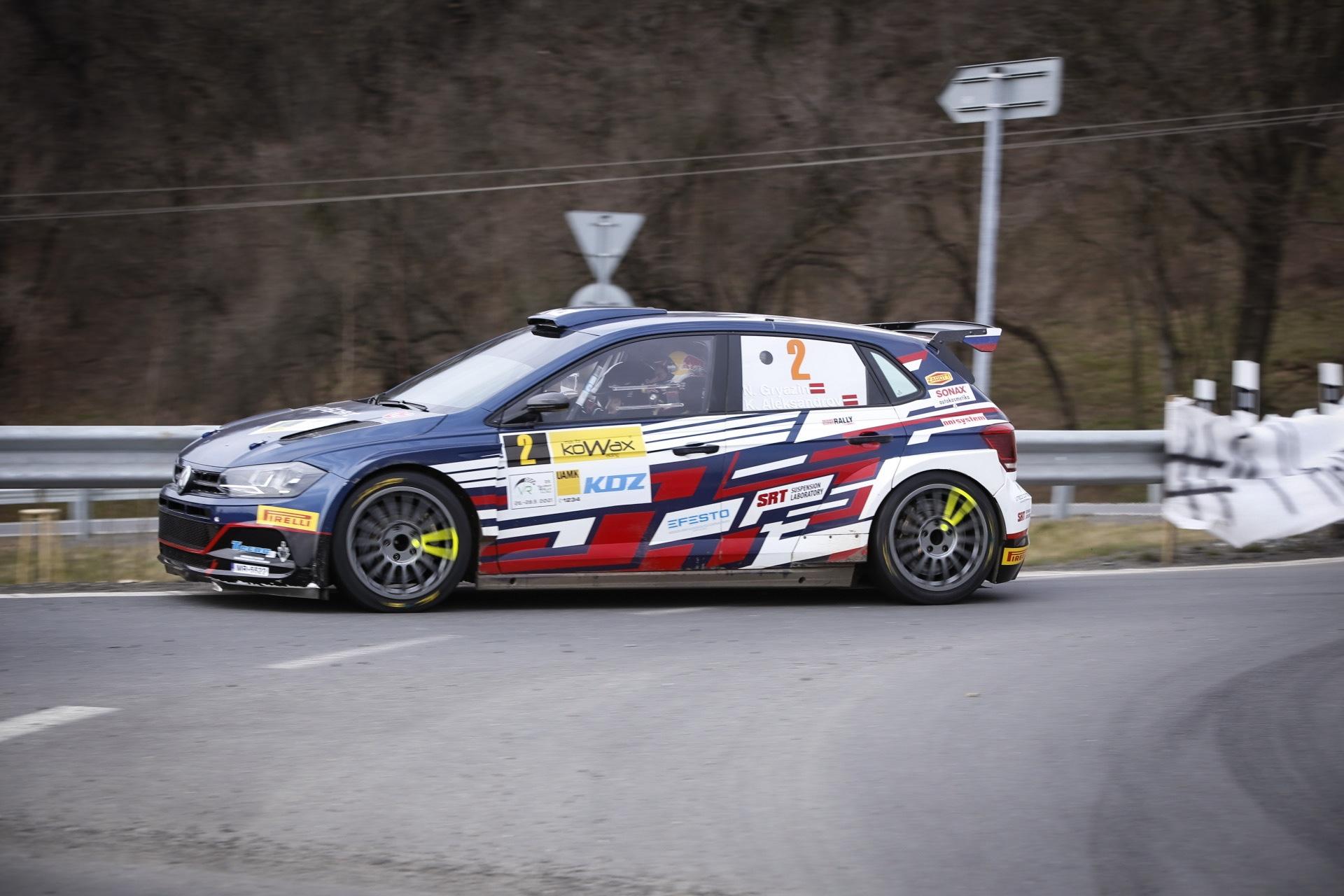Gryazin ovládl první den Kowax Valašské Rally 2021