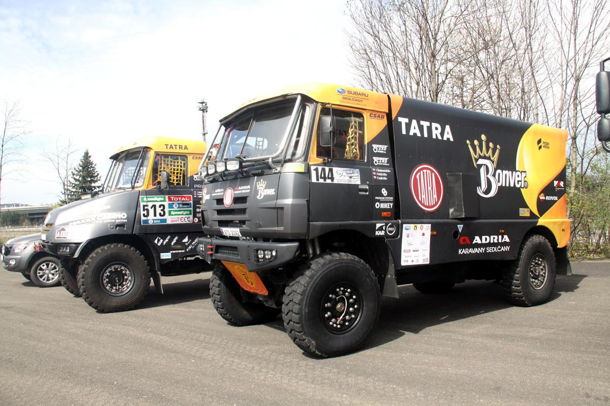 Valašská rally Valmez 2017 Bonver Dakar