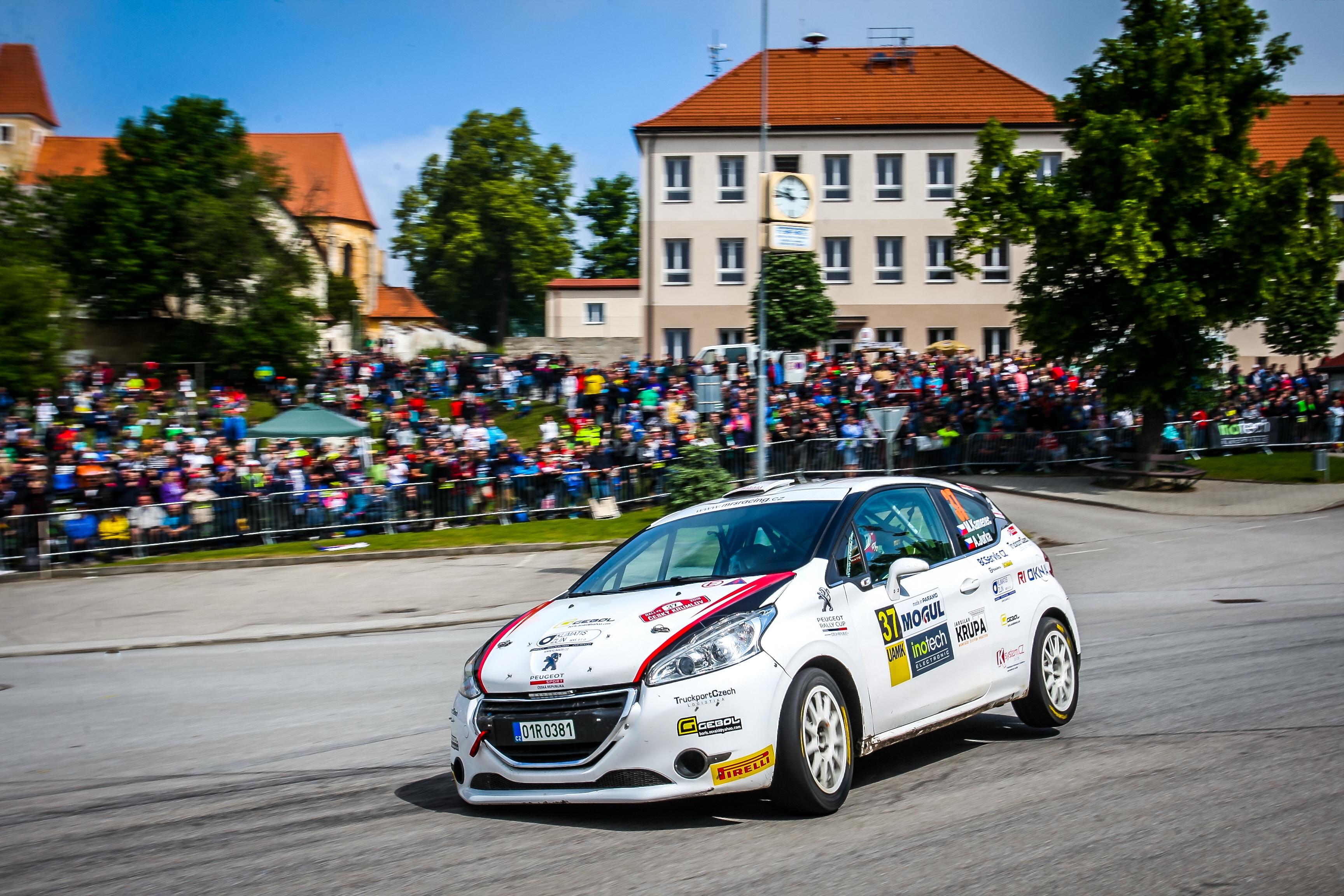 Nová jména v Peugeot Rally Cupu CZ