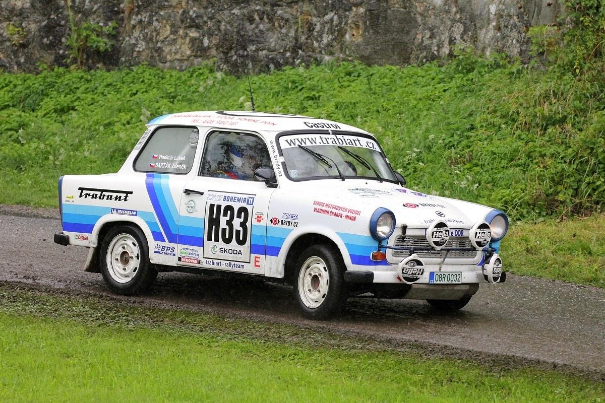 KOWAX Rally ve spojení s fulneckou akcí Trabant Retro